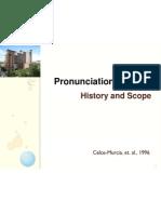 Method of pronunciation