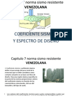 Capitulo 7 Norma Sismo Resistente Venezolana
