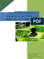 Ensayo Ciclo Narcotrafico y Lavado de Activos y El Papel de La Corrupcion