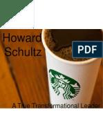 Howard Schultz Transformational Leader