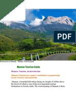 Munnar Tourism Guide