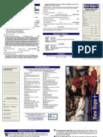 March 17, 2013 Worship Bulletin