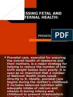 Assessing Fetal and Maternal Health