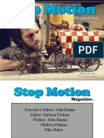 Stop Motion Magazine SMM-June-2010