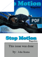 Stop Motion Magazine SMM June 2011 Issue