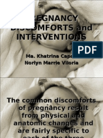 Pregnancy Discomforts and Interventions