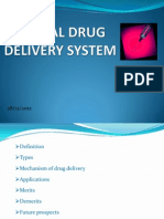 Special Drug Delivery Systems