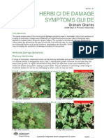 HERBICIDE DAMAGE