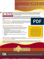 CSTE Exam