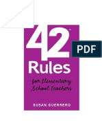42 Rules for Elementary School Teachers Wp