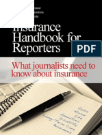 insurance hanbook for reporters