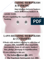 Law Relating to Bankers & Banking