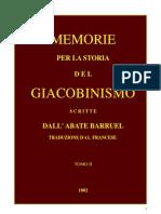 Barruel Memorie Tomo II