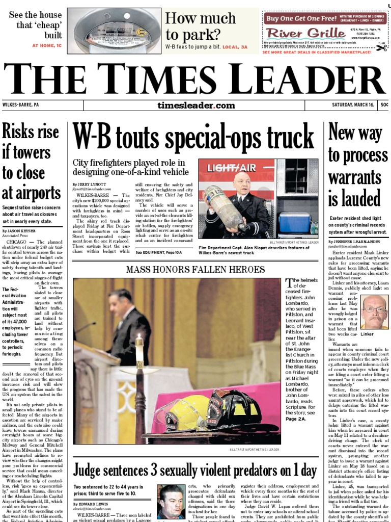 Times Leader 03 16 2013 Arrest Warrant Child Pornography Ppg Red Paint Code Honda Civic Codes Pioneer Car Radio Wiring