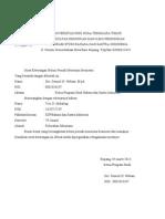 Surat Keterangan Aktif Kuliah