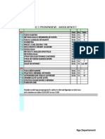 Orari i Provimeve-Absolventa Mars 2013