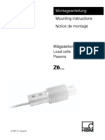 Wagezelle Load Cell Info