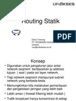 Modul Routing Statik