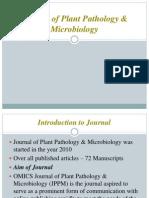 Journal of Plant Pathology & Microbiology