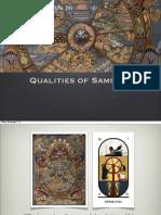 Qualities of Samsara
