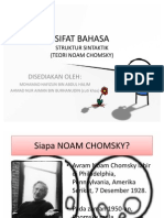 36559184 Struktur Sintaktik Noam Chomsky