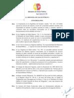 Reglamento de Becas2013