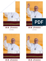 Estampa Papa Francisco