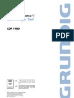 Grundig Cdp 1400