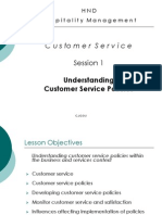Customer_Service Policy Session 2