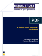 A Federal Future for the UK