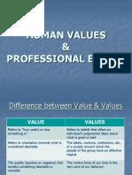 Human Values & Professional Ethics