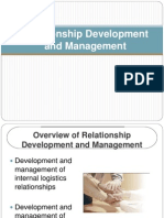 Relationship Mngt and Development