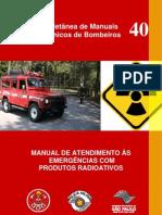Emergências com produtos radioativos