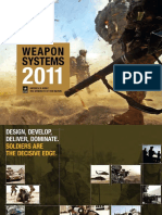 Army Weapons Systems 2011