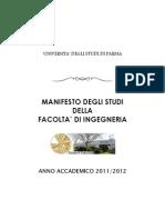 Manifesto Facolta' Ingegneria 2011-2012