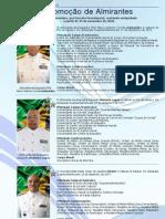 Promoção de Almirantes - Novembro de 2010
