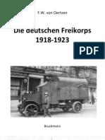 [Bruckmann] - Die Deutschen Freikorps 1918-1923