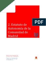 02 Estatuto de Autonomía de la Comunidad de Madrid