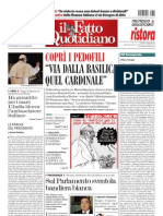 Il FATTO QUOTIDIANO 2013-03-15