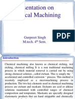 NTM - Chemical Machining_gurpreet Singh