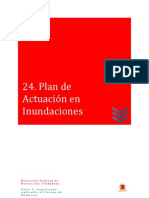 24 Plan de Actuación en Inundaciones