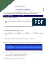 Gráficas funciones polinómicas