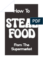 How to Steal Food From the Supermarket -Loompanics