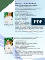 Promoção de Almirantes - Março de 2012