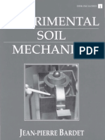 Experimental Soil Mechanics - Jean-Pierre Bardet