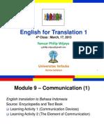 Translation 1 Class 4