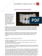 BioHPP - A new material class in dental prosthetics