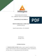 Atividade Colaborativa - Ambiente Virtual - Contrato Social