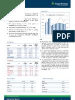 Derivatives Report, 15 March 2013