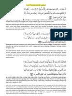 3 Ayat Terakhir Surat Al Baqarah